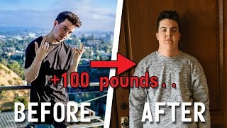 HOW I GAINED 100 LBS IN 10 DAYS (TRANSFORMATION)