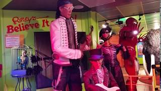 Ripley's Believe it or not San Francisco Exhibit of oddities Performance
