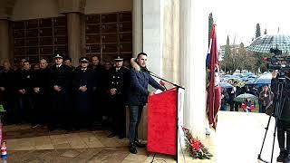 Govor Stanka Sopte Baje u Mostaru
