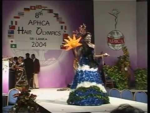 8th APHCA Hair Olympics Sri Lanka 2004 December 23rd 24th