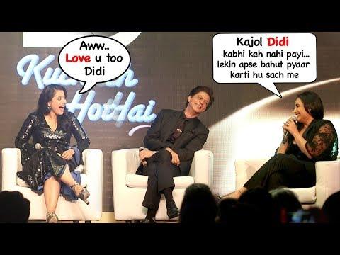 Xxx Mp4 Rani Mukherjee Calls Kajol Didi Sister Ends FIGHT Kuch Kuch Hota Hai 20 Yrs Celebration 3gp Sex