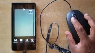 Lenovo OTG TEST with USB Mouse | A7020 Lenovo OTG Support Test | Lenovo Mobile Phones |
