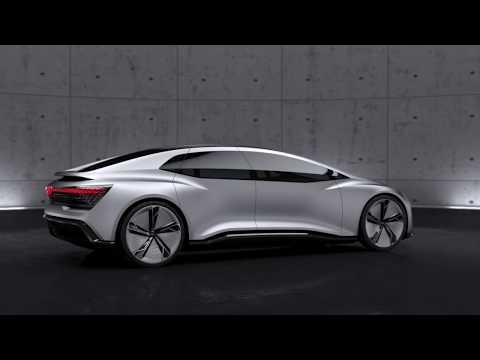 Audi AICON 2017 - technology animation