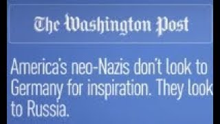 'Of course Russia': WaPo explains inspiration for US Neo-Nazis