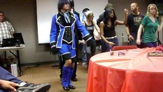Ciel & Sebastian dance to Cupid Shuffle