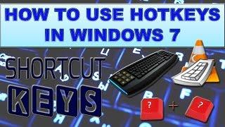 35 Useful short cut keys for windows 7?