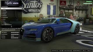 #4 سلسلة تعديل سيارات GTA V | صدمت بسيارتي الجديدة