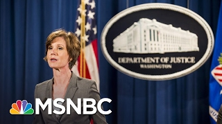 Joe On Firing Of AG Sally Yates: Using The Word 'Betrayed' Is Frightening | Morning Joe | MSNBC