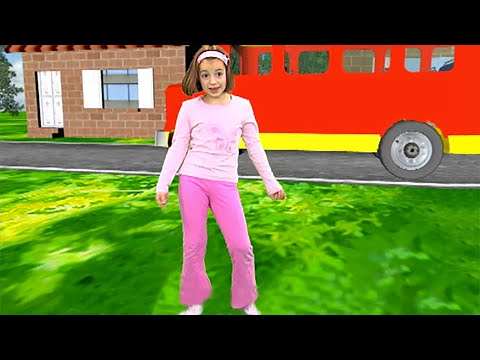 Zouzounia feat. Anna Rose & Amanda The Wheels On The Bus