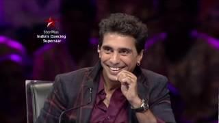 Group MJ 5  at the dance trials | MJ5 | India 's dancing superstar | Moonwalk