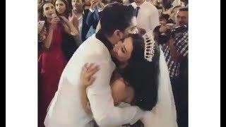 شاهد رومانسية نجم ستار أكاديمي مينا عطا فى حفل زفافه
