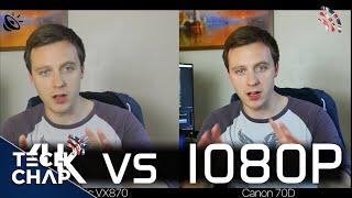DSLR vs Camcorder (4K vs 1080p) Comparison