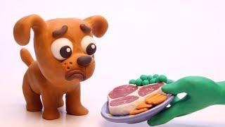 Dogguie & Superheroes Stop Motion Cartoons