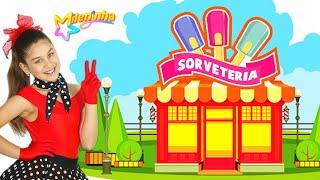 SORVETERIA 🍦🍨(Clipe Oficial) Milena Stepanienco (Mileninha) 8 anos