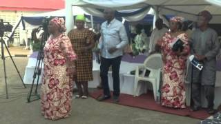 Special rendention by Apostolic Faith Church for Mama H.I.D Awolowo