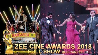 Zee Cine Awards 2018   Bollywood Awards Show 2018 Full Show Zee Awards 2018   Red Carpet
