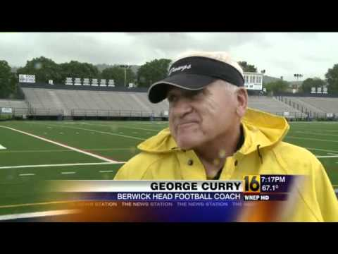 Pennsylvania s Winningest HS Football Coach Comes Back To Berwick 2012
