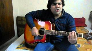 Aankhon Hi Aankhon Mein- Mohit Chauhan Unplugged by Setu Shivpuri
