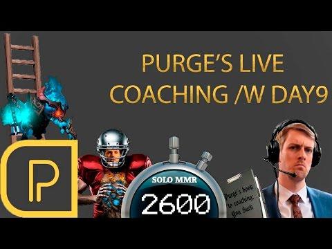Live Coaching Day9, 2600 MMR, Spirit Breaker