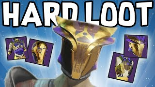 Destiny 2: ALL HARD MODE LEVIATHAN RAID LOOT!