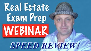1 Hour Real Estate Exam Crash Course with Irene