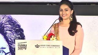 Suseenthiran is very comfortable director, says Sri Divya - Maaveeran Kittu audio launch
