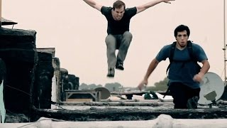 Parkour Chase Real Life:- Parkour Free Running Chase 2015