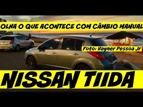 Olha o que acontece com o Câmbio Manual Nissan Tiida Teomave