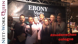 Köln Ebony Night Modenschau Madlchen Mode Fashion Club Cologne Beauty