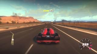 Forza Horizon Fastest Koenigsegg Agera (270mph)