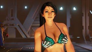 Street Fighter 5 Ibuki Momiji Yaiba Bikini mod(Cutscene only)
