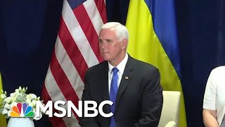 House Intel Wants Mike Pence To Declassify Extra Impeachment Testimony | Rachel Maddow | MSNBC