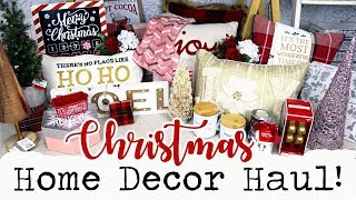 HUGE CHRISTMAS DECOR HAUL 2017!