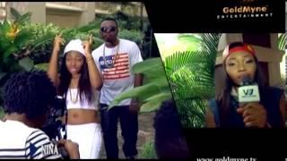 BEHIND THE SCENES NINA FT SAMKLEF (Nigerian Entertainment)