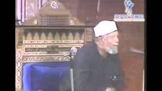 15- تفسير سورة  طه- الآية ( 116 -- 126 ) - الشيخ متولي الشعراوي