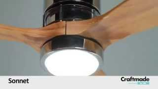 Craftmade Sonnet Ceiling Fan Collection