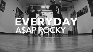 Gabriele Mandreucci choreography | Everyday by A$ap Rocky @iroland97 @asaprockyofficial_