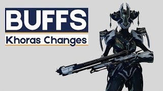Warframe: Buffs & Changes For Khora