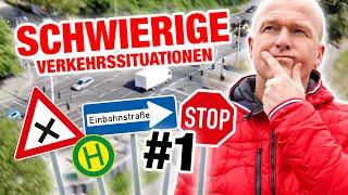 Führerschein - Schwierige Verkehrssituationen - einfach erklärt! ???? #1 | Fischer Academy