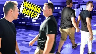 Asking STRANGERS on a DATE