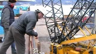 CC2000 demag Sollevamento e posizionamento turbina