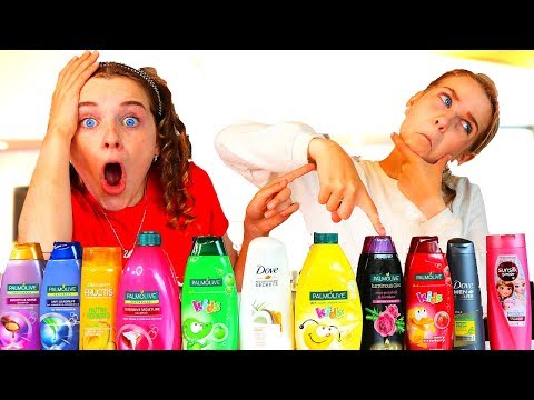 Don t Choose the Wrong Shampoo Slime Challenge