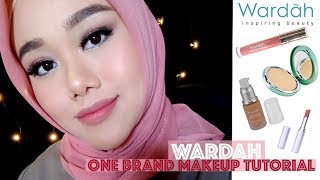 WARDAH ONE BRAND MAKEUP TUTORIAL | FATYABIYA