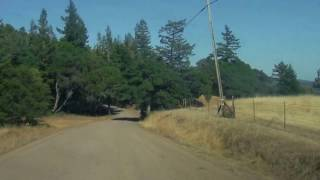 Fish Roack Road, Mendocino County