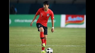 Son scores to help South Korea advance at Asian Games