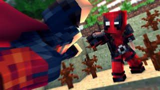 Minecraft: SUPER HEROES PVP #35 - SUPERMAN VS DEADPOOL ‹ Ine ›