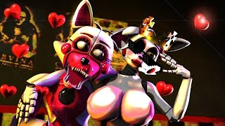 BEST TOP SFM FNAF SISTER LOCATION MANGLE X  FUNTIME FOXY JUMPLOVE JUMPSCARE COMPILATION