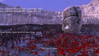 斯巴达、步兵团和僵尸 VS 30000个弓箭手 楚河《史诗战争模拟器》反败为胜