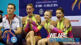 HIGHLIGHTS - 2014 Acrobatic Worlds, Levallois-Paris (FRA) - Women's Groups - We are Gymnastics!