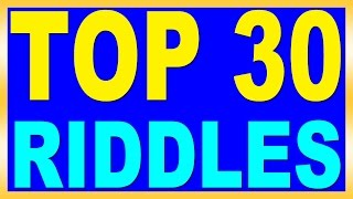 Top 30 Riddles with Answers  for Kids | QPT